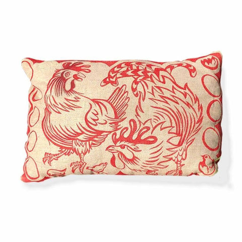 Cushions - Red Chicken Cushion
