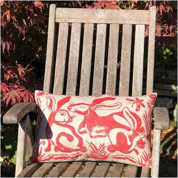 Cushions - Red Hare Cushion
