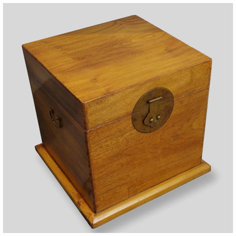 Furniture - Camphor Wood Lift Top Trunk