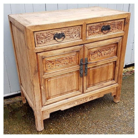 Furniture - Hand Carved Chinese Cabinet