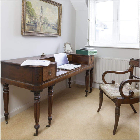 Furniture - John Broadwood Square Piano As Desk
