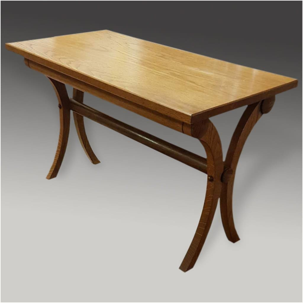 Furniture - Oak Rectangular Coffee Or Side Table