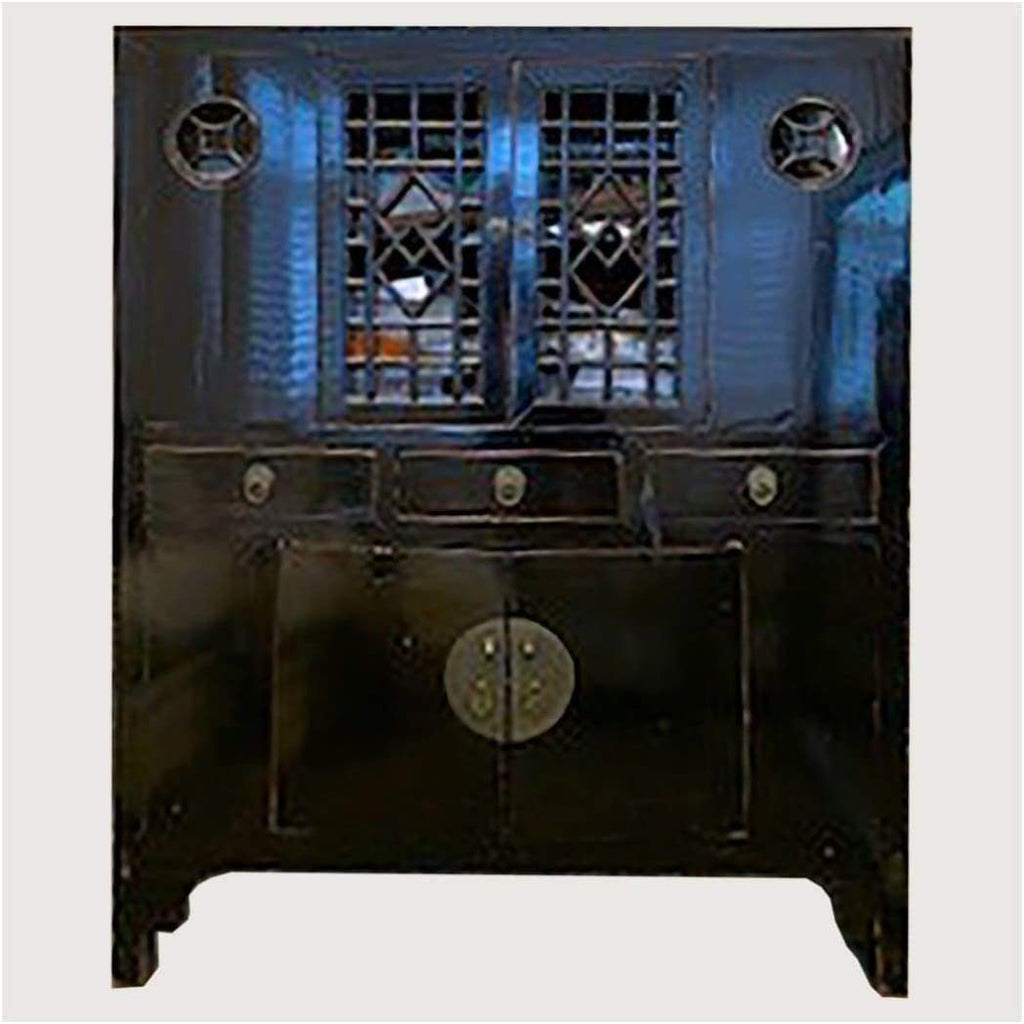 Furniture - Qing Dynasty Black Cabinet