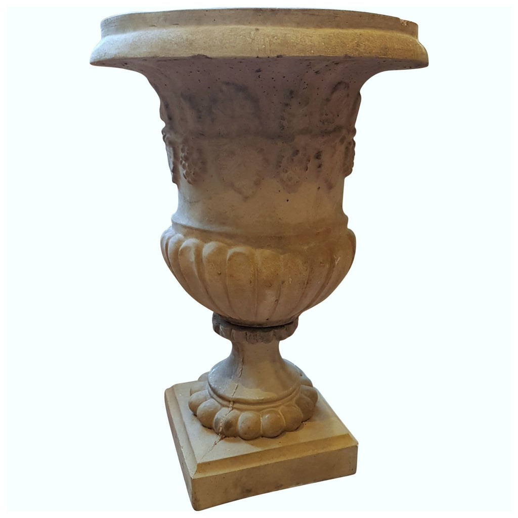 Garden - Pair Of Stone Urns