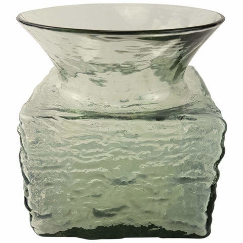 Glass - Frank Thrower Grey Bark Vase
