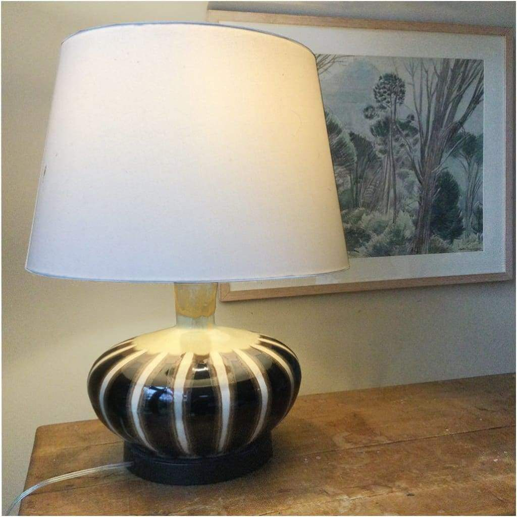 Lighting - Large Pottery Table Lamp