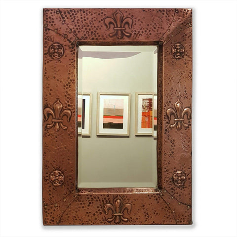Mirrors - Arts & Crafts Copper Mirror