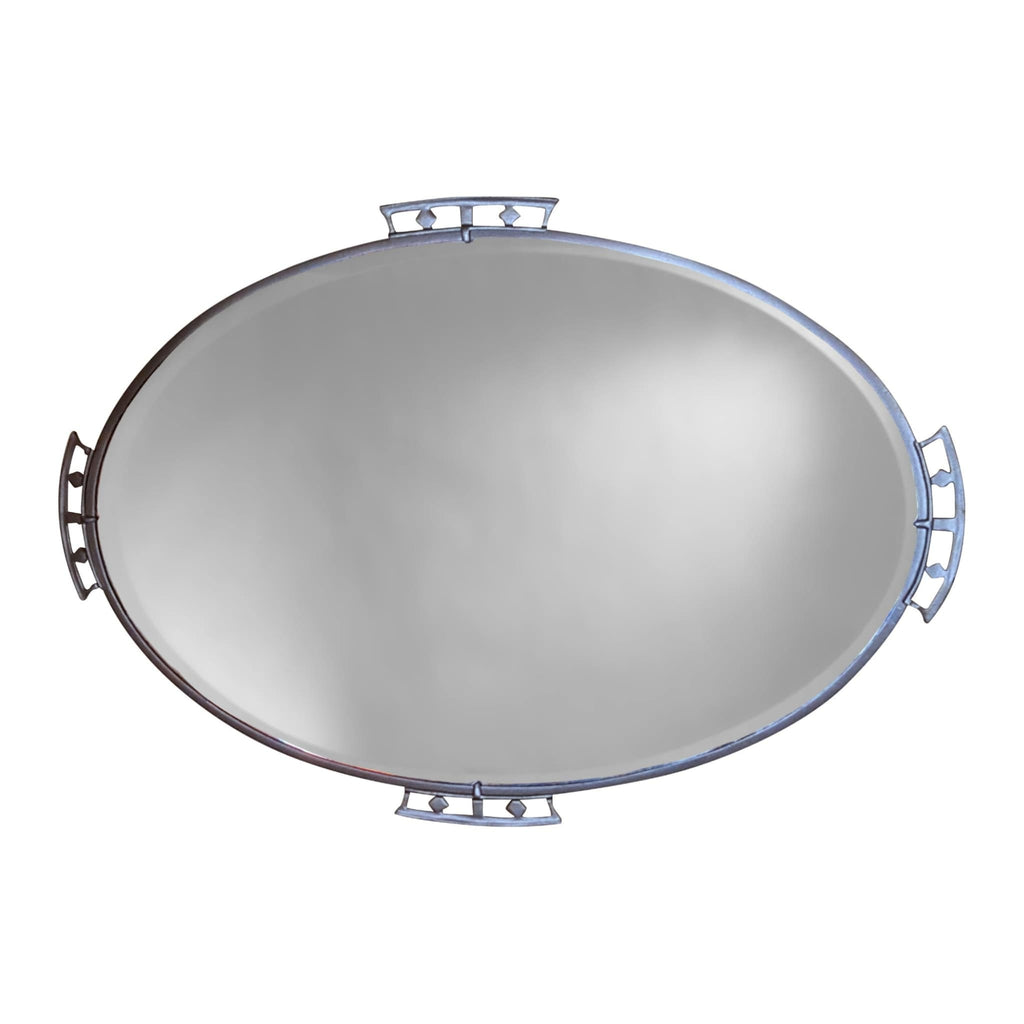 Mirrors - Chrome Framed Mirror