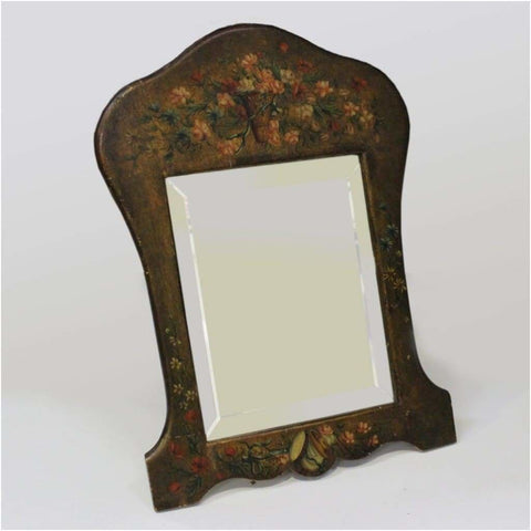 Mirrors - Floral Decorated Table Mirror