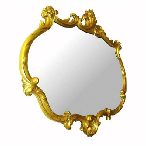 Mirrors - French Gesso Gilt Mirror