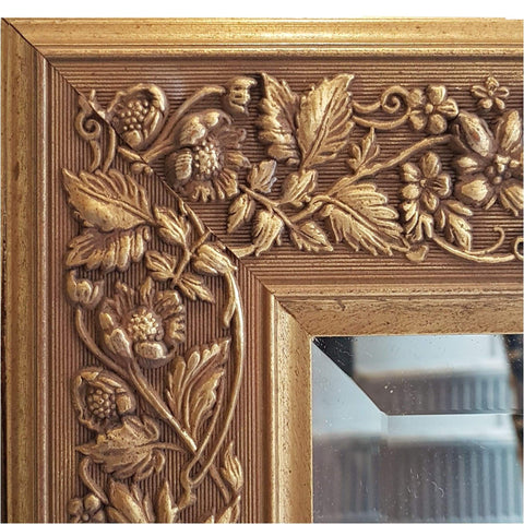 Mirrors - Large Gilt Frame Mirror