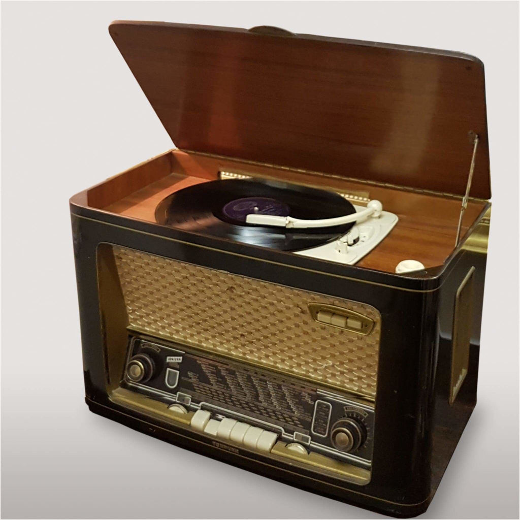 Miscellaneous - 1955 Radio Tonfunk Violetta With Philips Stereo Turntable