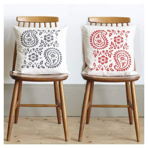 Miscellaneous - Big Paisley Cushions By Random Retail