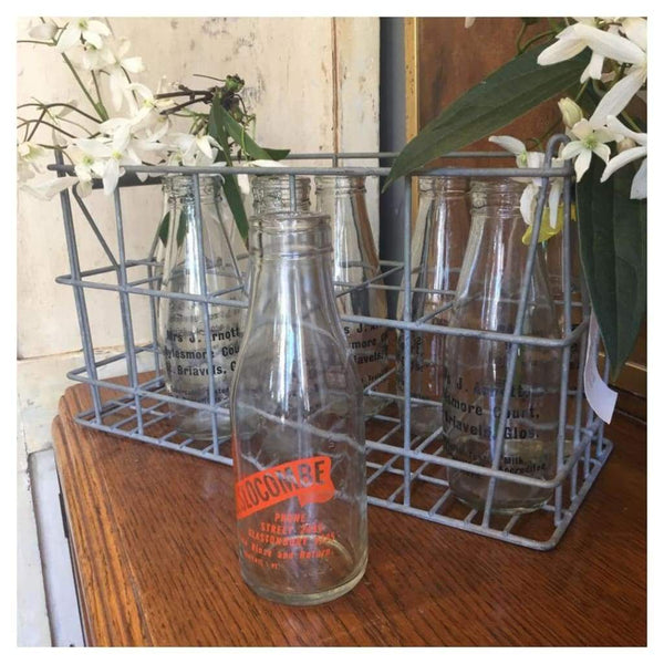 Miscellaneous - Metal Milk Bottle Crate