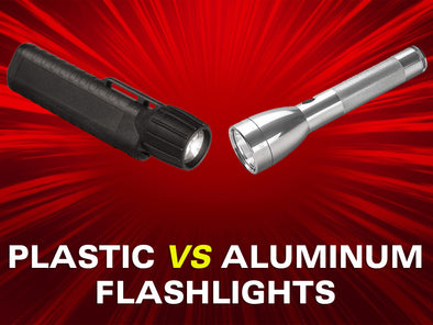 What's Best For Firefighting and Industrial Flashlight - Plastic vs Aluminum