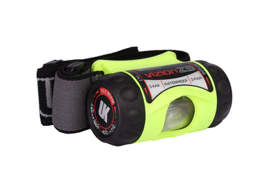 UK 3AAA Vizion Z3 Headlamp - Hands Free LED Light