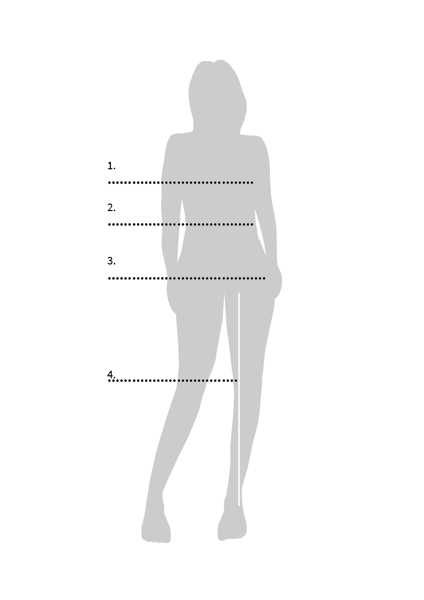 Kaiko Size guide woman