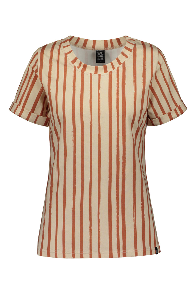 Everyday T-shirt Ss, Boho Stripe