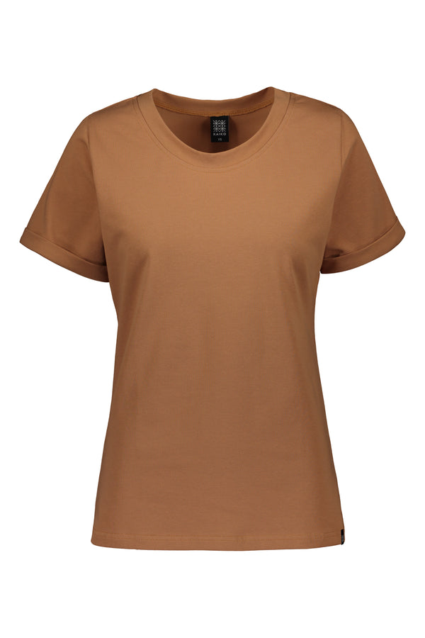 Everyday T-shirt SS, Caramel