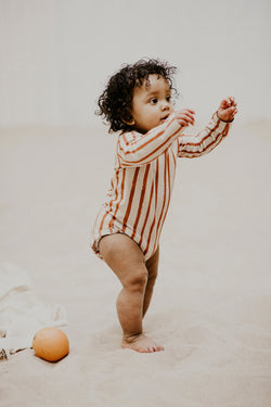 Baby Body LS, Boho Stripe