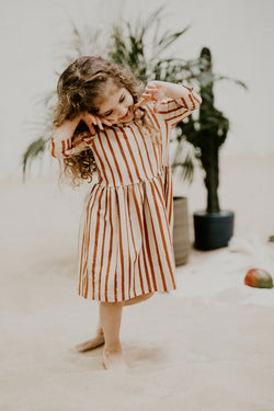 Boho Stripe Dress
