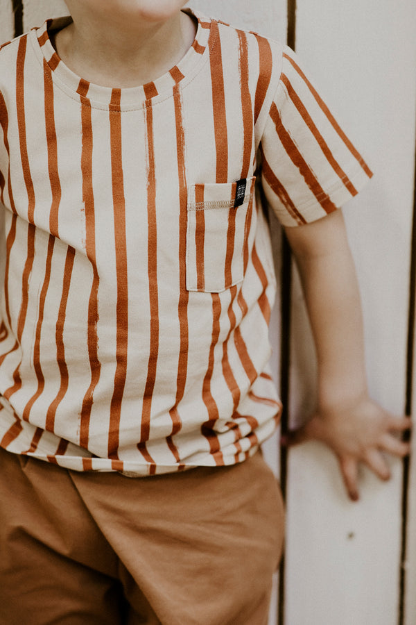 Treasure T-shirt, Boho Stripe