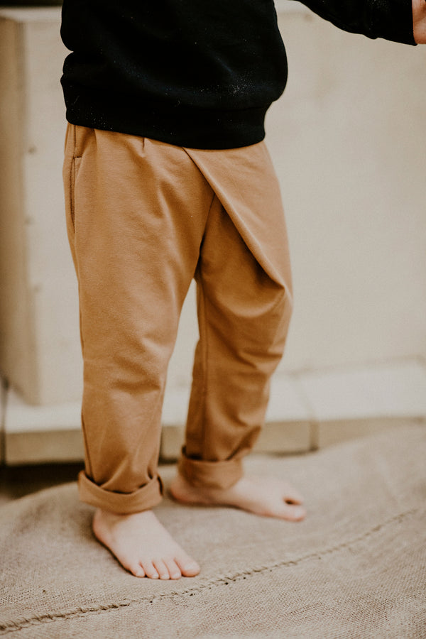 Wrap Pants, Caramel
