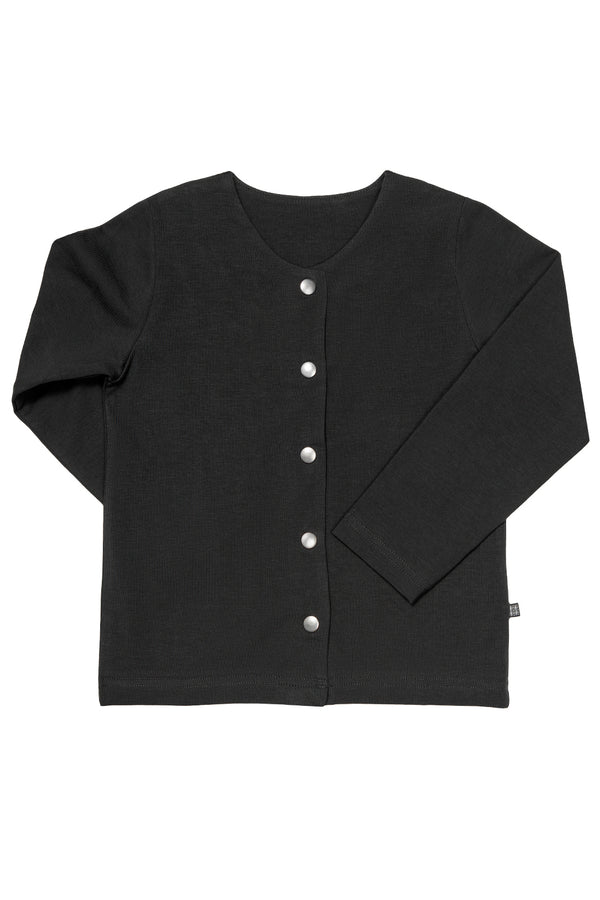 Button Shirt LS, Black