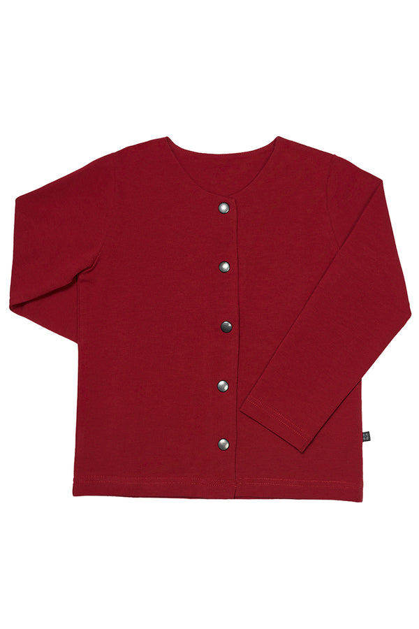 Button Shirt LS, Red