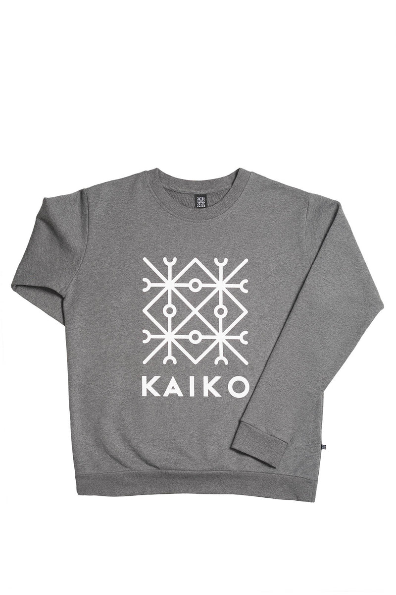 Kaiko Sweatshirt, Dark Grey Mel.