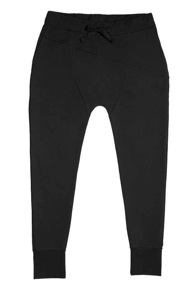 Sloper Pants, Black