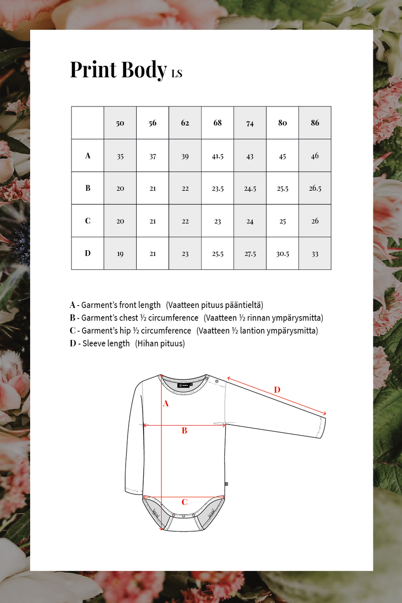 Poppy Field Body Ls