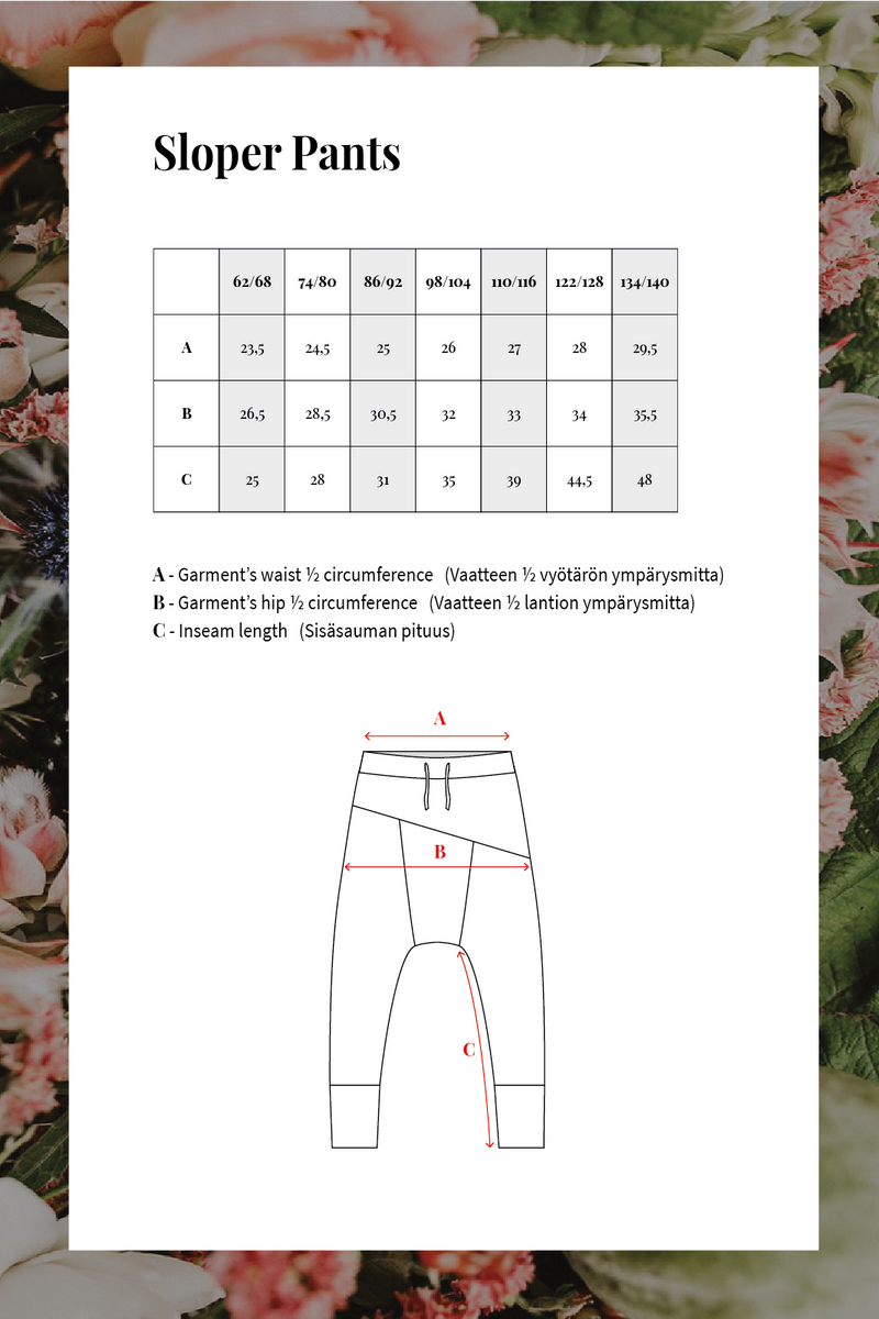 Sloper Pants, Forest