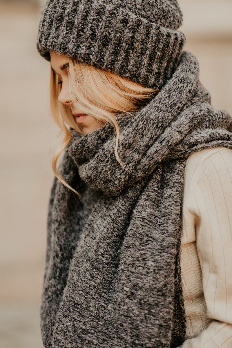 Chunky Scarf, Granit