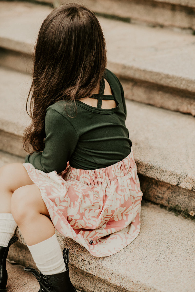Skater Skirt, Rose Garland