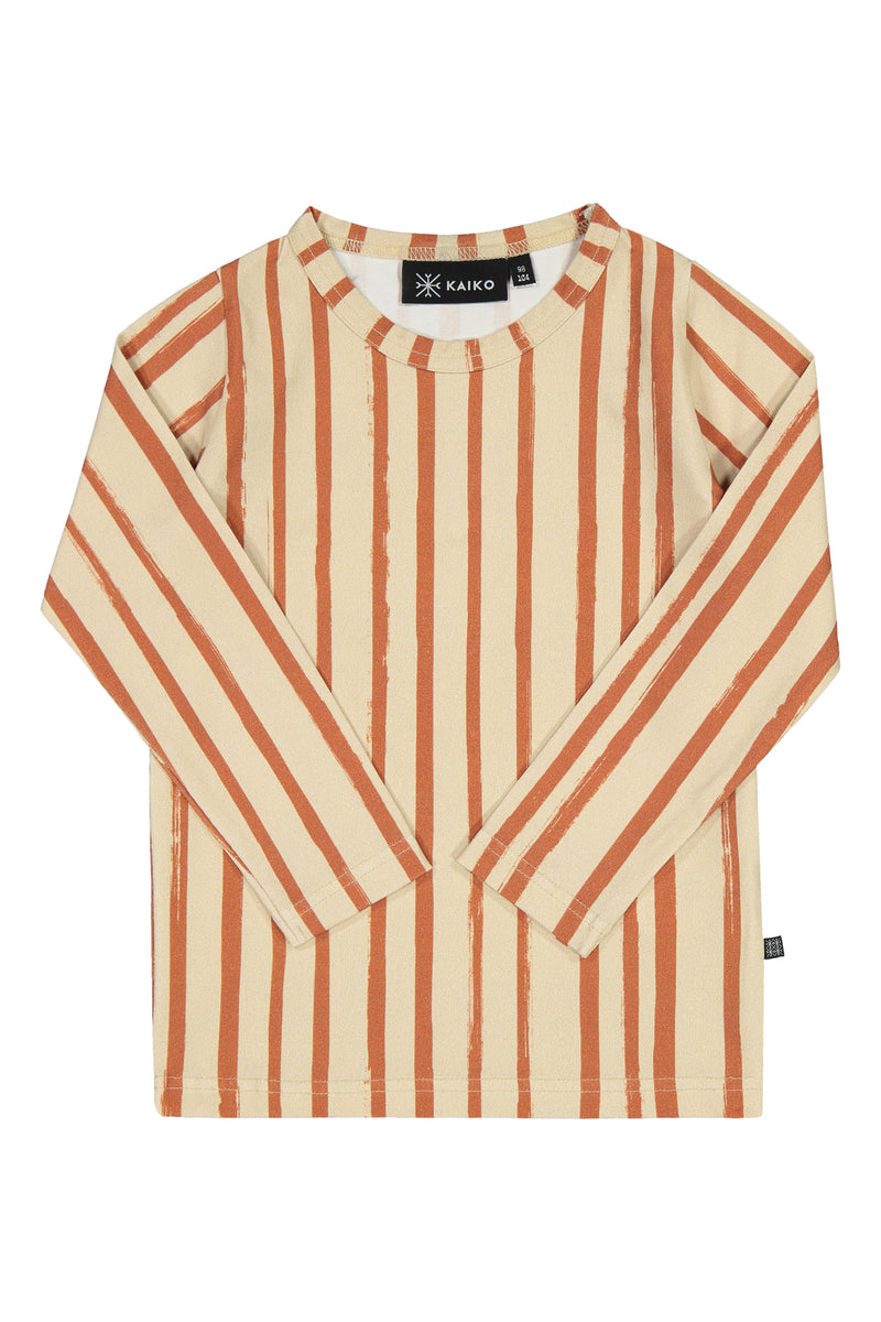 Boho Stripe T-Shirt LS