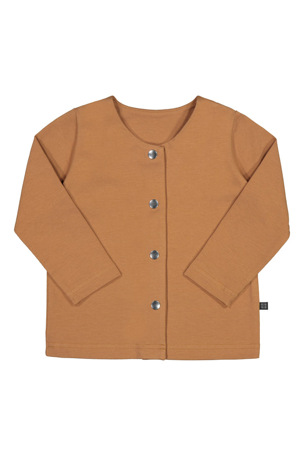 Button Shirt LS, Caramel