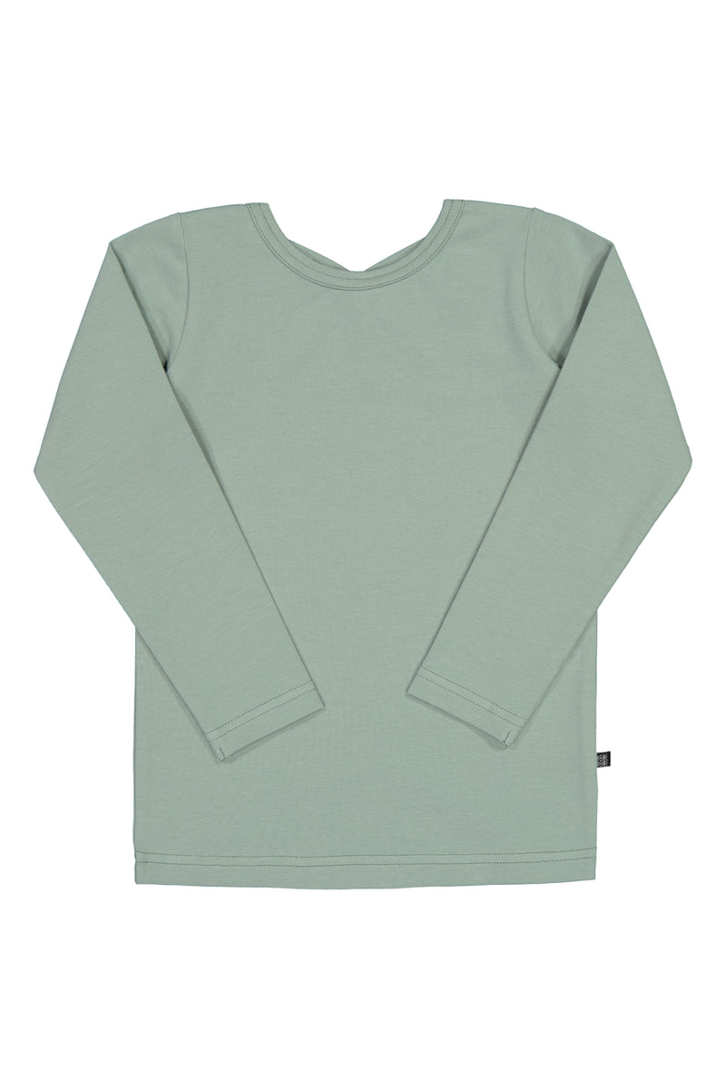 Cross Shirt LS, Eucalyptus