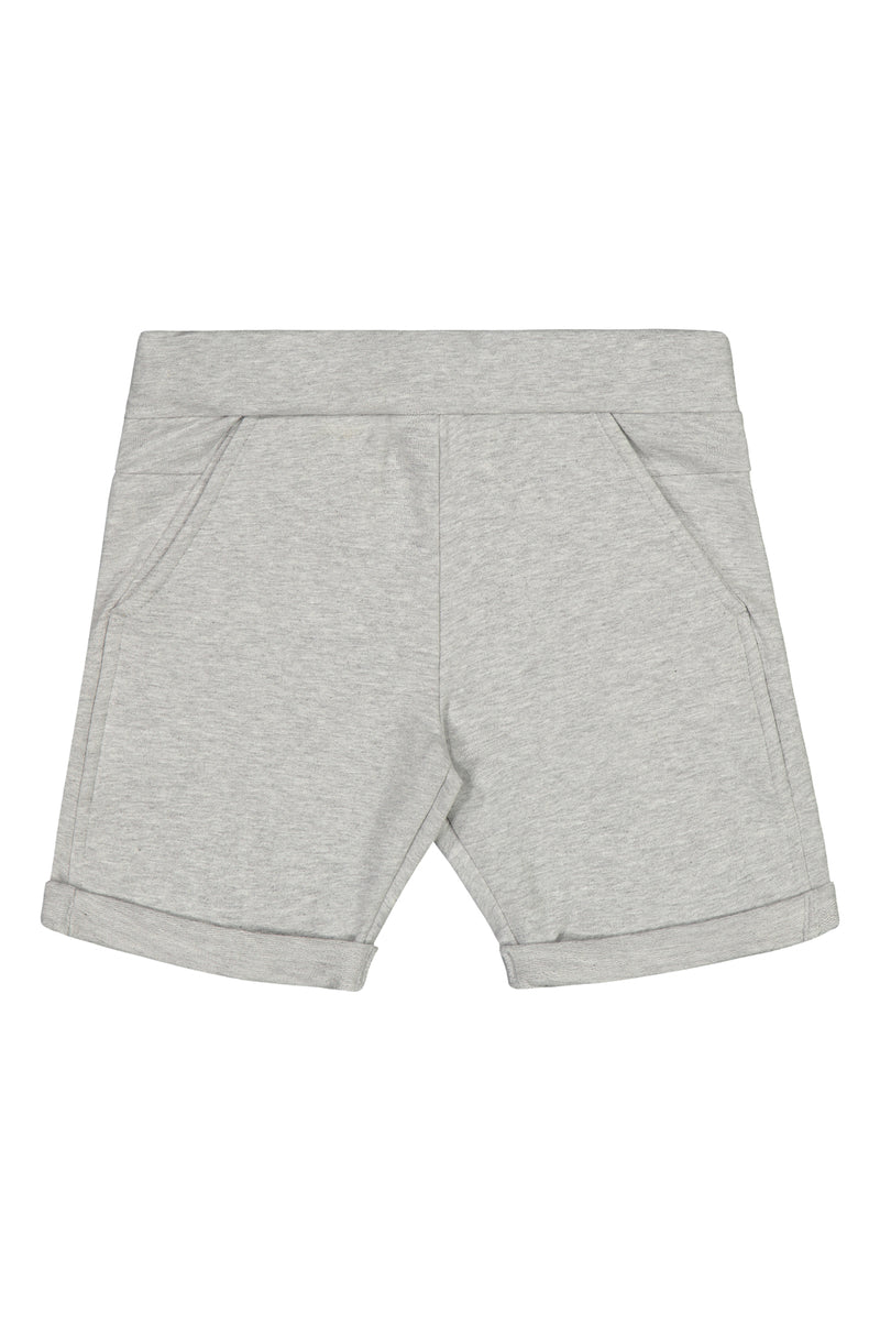 Jogger Shorts, Light Grey Mel.