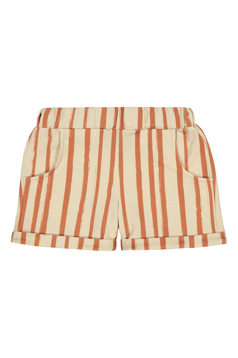 Summer Shorts, Boho Stripe
