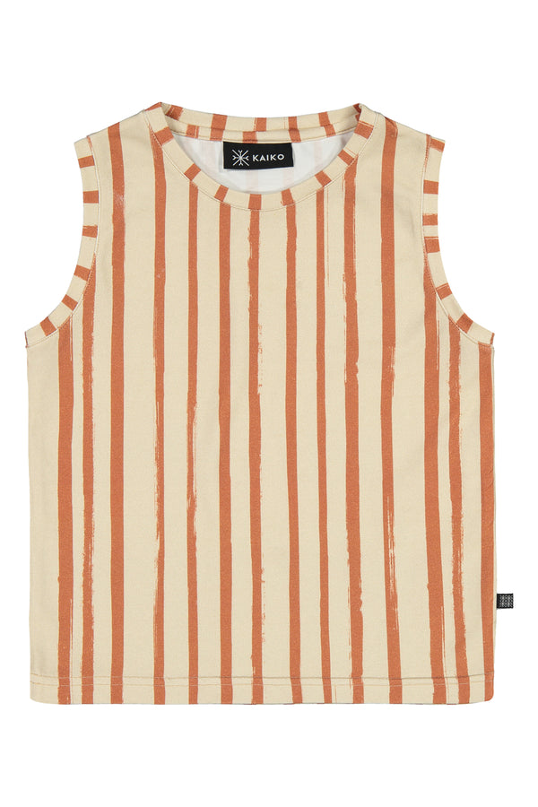 Tank Top, Boho Stripe
