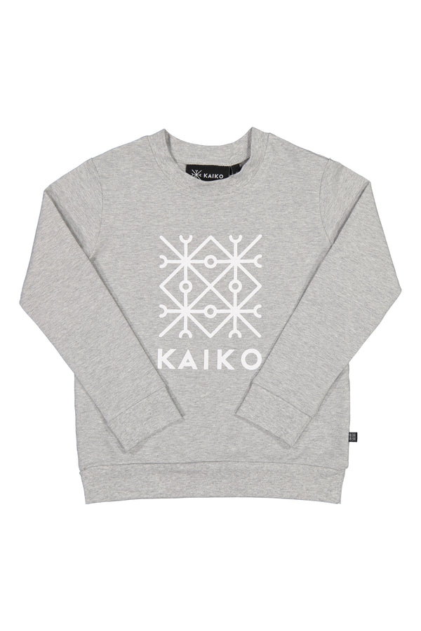 Kaiko Sweatshirt, Light Grey Mel.