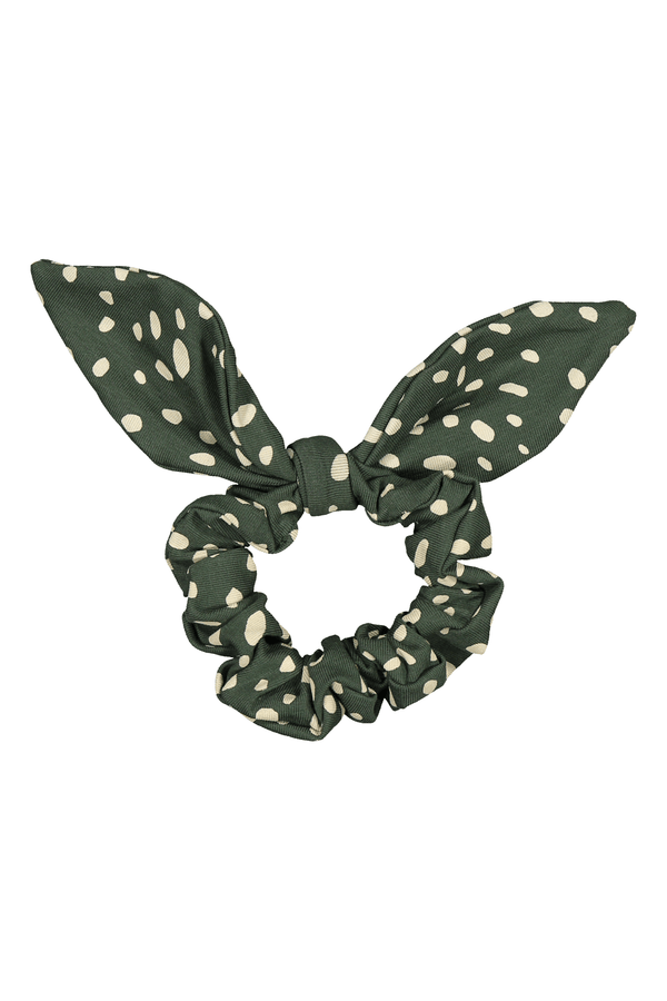 Bow Scrunchie, Wild Dots