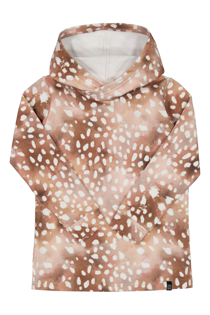 Copper Bambi Hoodie Ls