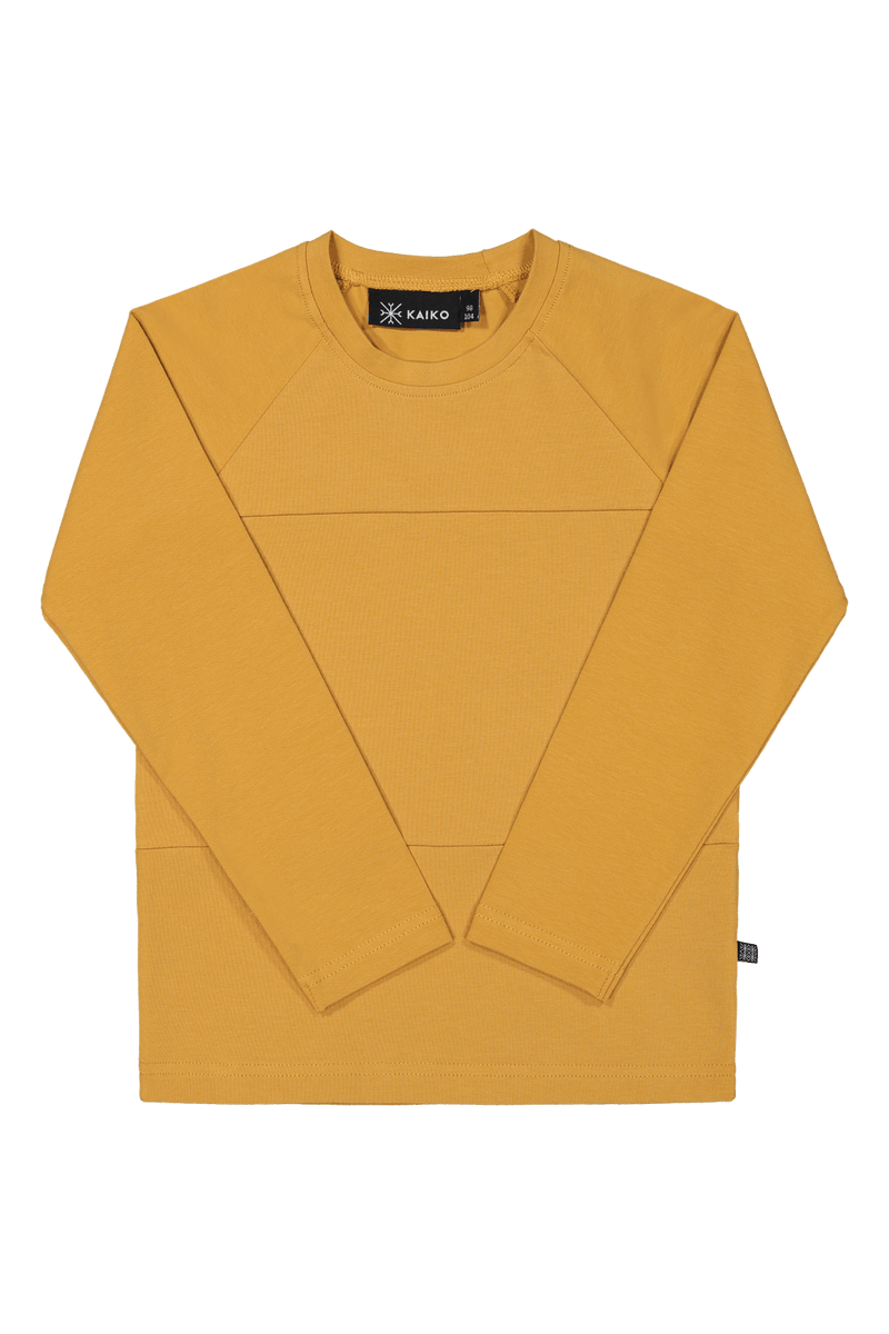 Block Shirt Ls, Ochre