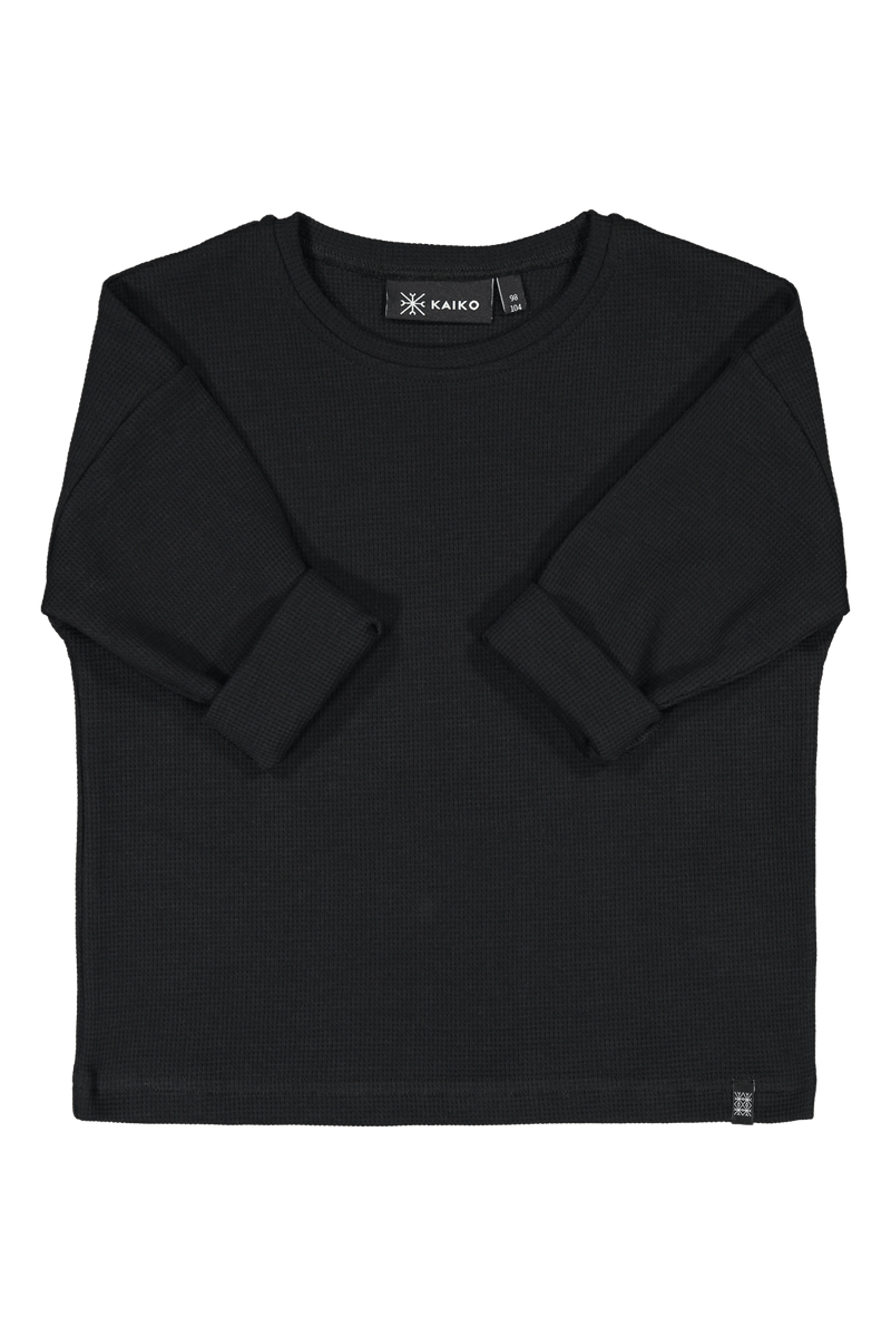 Box Sweater, Black