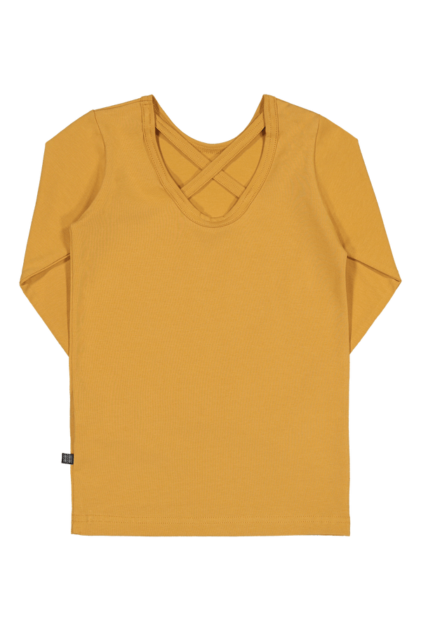 Cross Shirt Ls, Ochre