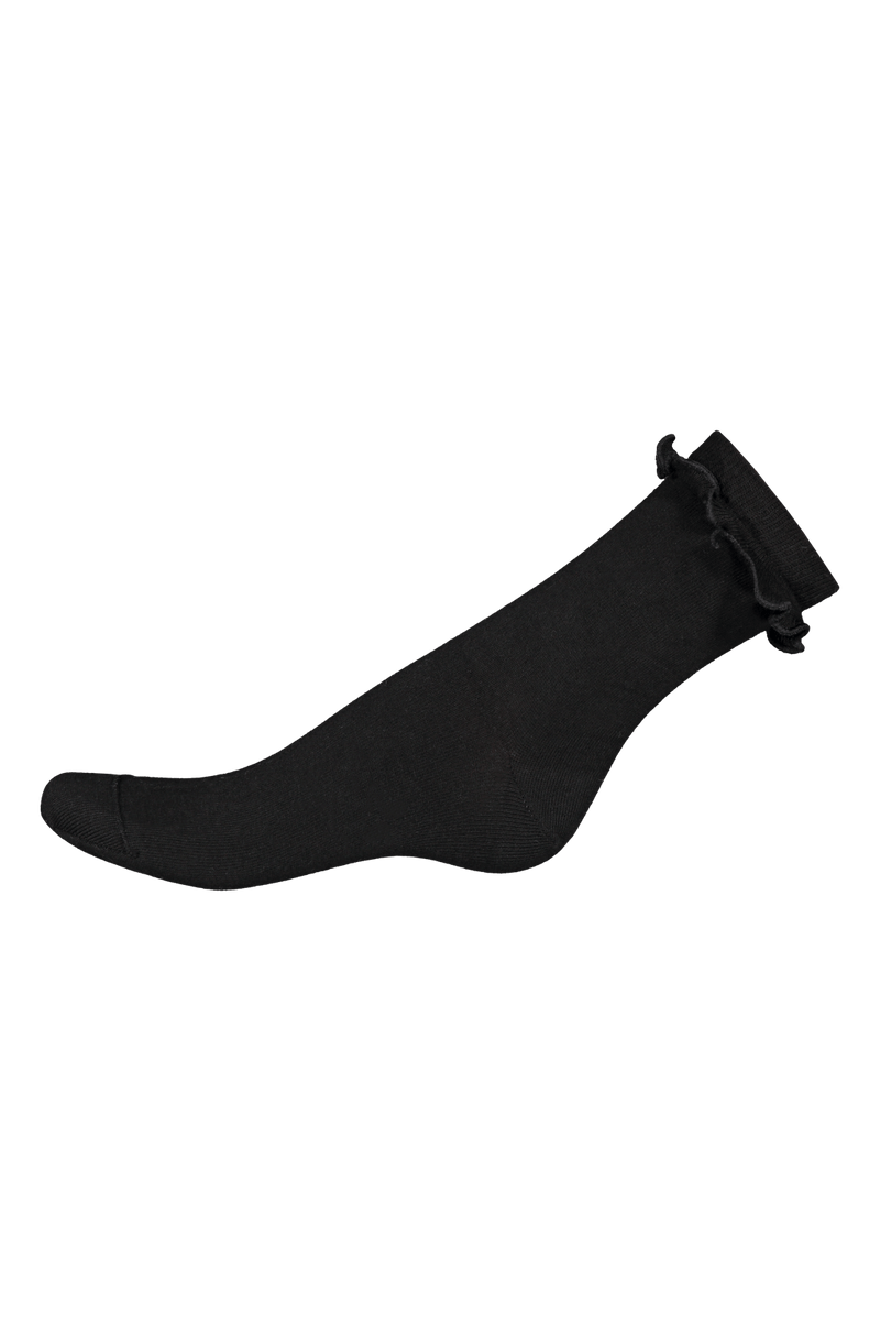 Frill Socks, Black