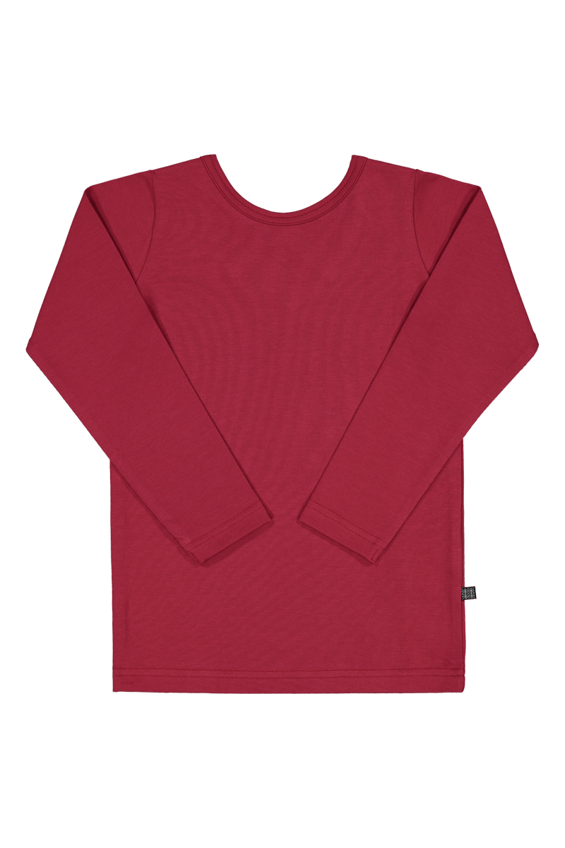 Cross Shirt LS, Goji