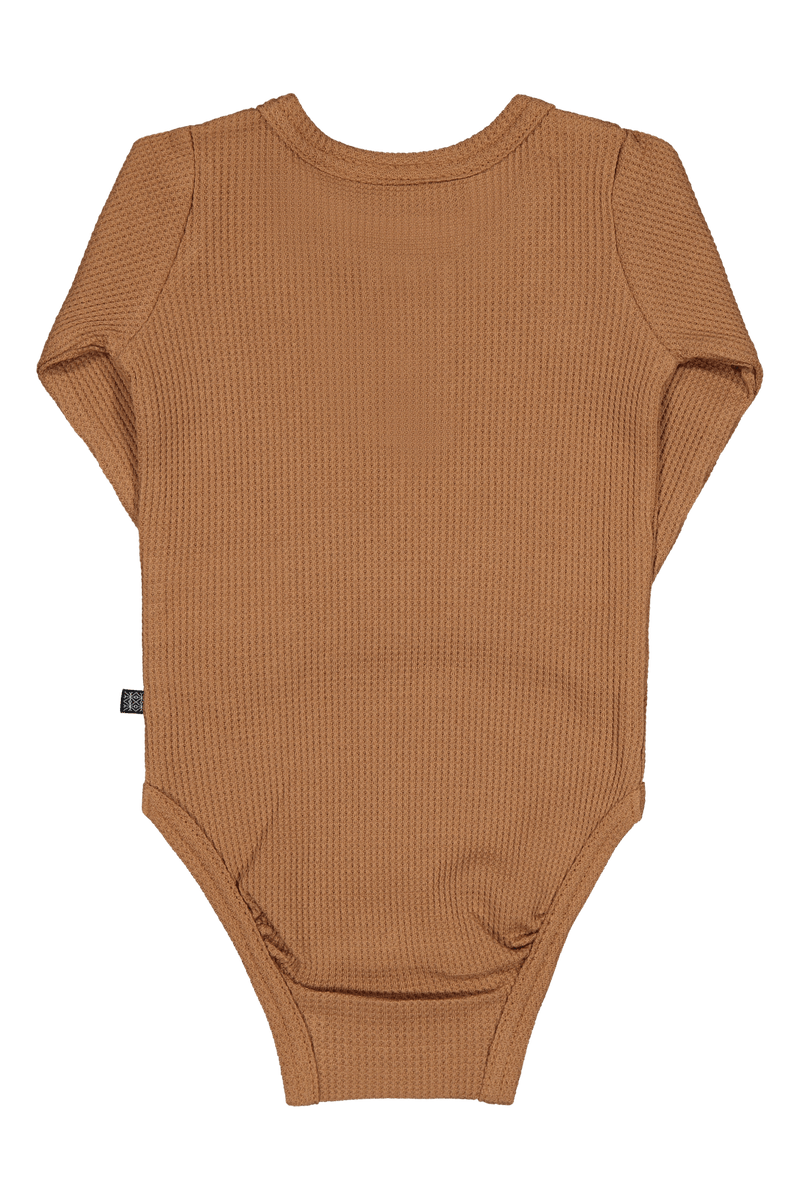 Henley Body LS, Toffee